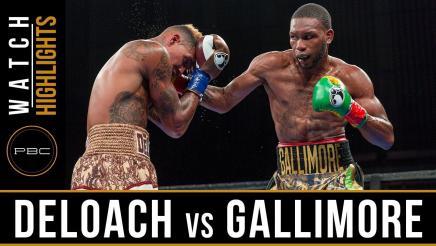 DeLoach vs Gallimore Highlights: July 30, 2017 - PBC on FS1