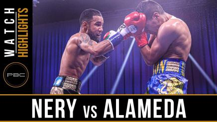 Nery vs Alameda - Watch Fight Highlights   September 26, 2020