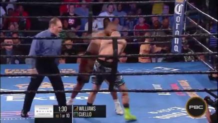 Williams vs Cuello highlights: September 22, 2015