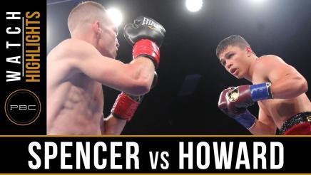 Spencer vs Howard - Watch Video Highlights | June 10, 2018
