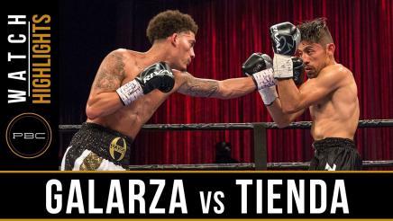 Galarza vs Tienda Highlights: June 20, 2017