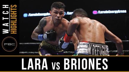 Lara vs Briones Highlights: May 20, 2017