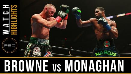 Browne vs Monaghan Highlights: July 15, 2017 - PBC on FOX