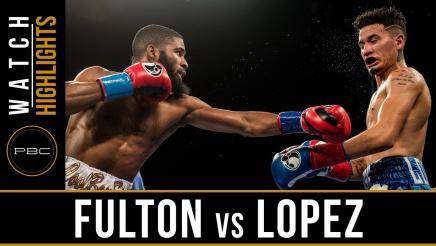 Fulton vs Lopez Highlights: December 8, 2017