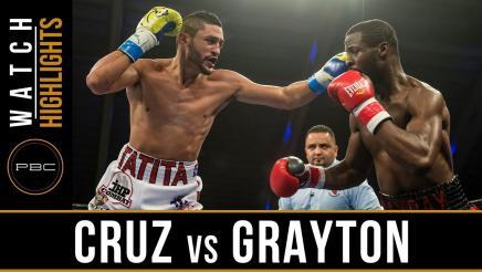 Cruz vs Grayton Highlights: November 21, 2017
