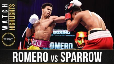 Romero vs Sparrow - Watch Fight Highlights | January 23, 2021