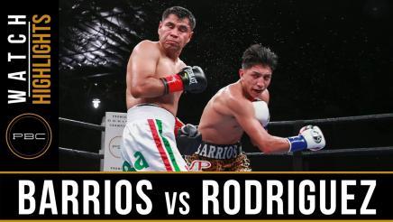 Barrios vs Rodriguez highlights: June 11, 2017