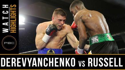 Derevyanchenko vs Russell HIGHLIGHTS: March 14, 2017