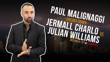 Paul Malignaggi Breaks Down Charlo vs Williams on December 10, 2016