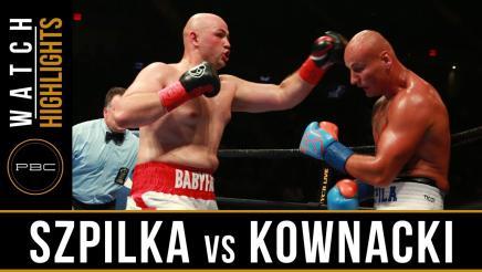 Szpilka vs Kownacki Highlights: July 15, 2017 - PBC on FOX