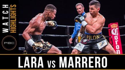 Lara vs Marrero — Watch Video Highlights | April 28, 2018
