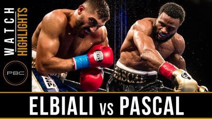 Elbiali vs Pascal Highlights: December 8, 2017