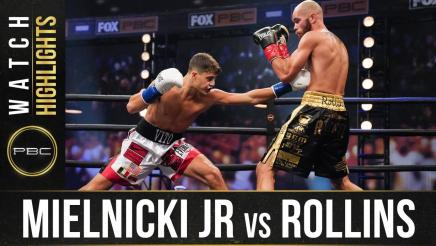 Mielnicki vs Rollins- Watch Fight Highlights | August 8, 2020