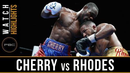 Cherry vs Rhodes Highlights: June 28, 2016
