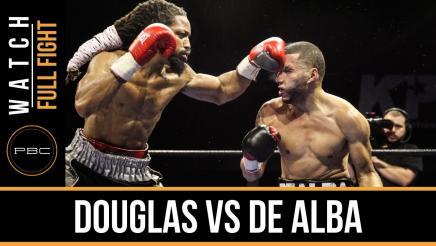 Douglas vs De Alba full fight: December 29, 2015