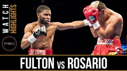 Fulton vs Rosario HIGHLIGHTS: April 4, 2017