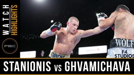 Stanionis vs Ghvamichava - Watch Video Highlights | August 24, 2018