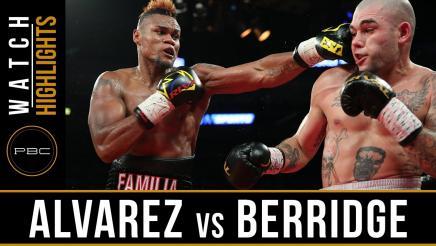 Alvarez vs Berridge highlights: July 29, 2016