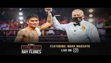 Mark Magsayo Talks Fighting Julio Ceja and Training with Manny Pacquiao   Time Out with Ray Flores