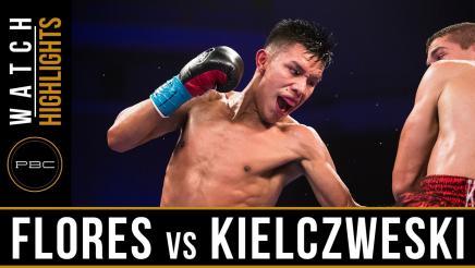 Flores vs Kielczweski highlights: August 12, 2016