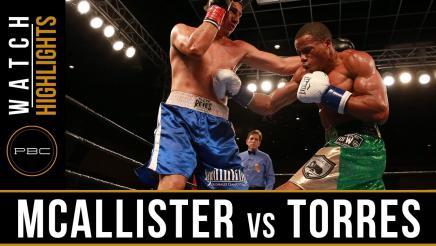McAllister vs Torres Highlights: March 28, 2017