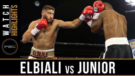 Elbiali vs Junior HIGHLIGHTS: March 14, 2017