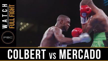Colbert vs Mercado - Watch Full Fight | June 23, 2019
