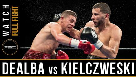 De Alba vs Kielczweski - Watch Full Fight | April 4, 2017