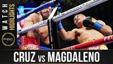 Cruz vs Magdaleno - Watch Fight Highlights   October 31, 2020