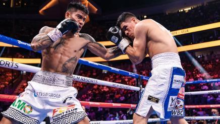 Mark Magsayo's devastating KO of Julio Ceja   Magsayo vs Ceja