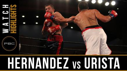 Hernandez vs Urista highlights: September 13, 2016