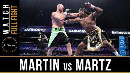 Martin vs Martz - Watch Full Fight | July 13, 2019