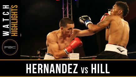 Hernandez vs Hill Highlights: July 12, 2016