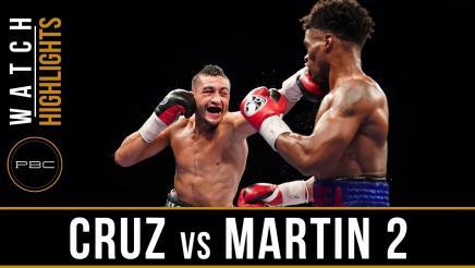 Cruz vs Martin highlights: June 27, 2017