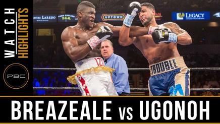 Breazeale vs Ugonoh Highlights: February 25, 2017