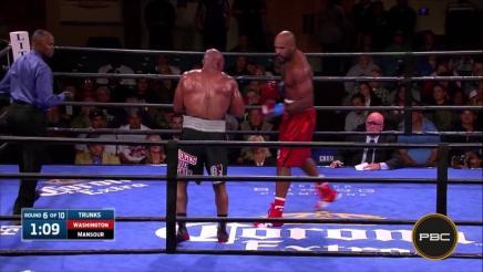 Washington vs Mansour highlights: October 13, 2015