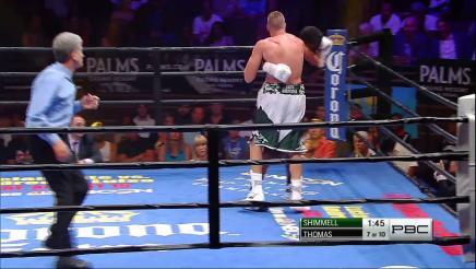 Shimmell vs Thomas full fight: July 25, 2015