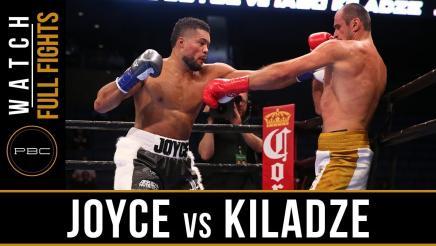 Joyce vs Kiladze Full Fight: September 30, 2018 - PBC on FS1