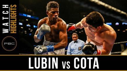 Lubin vs Cota HIGHLIGHTS: March 4, 2017