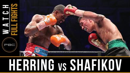Herring vs Shafikov full fight: July 2, 2016