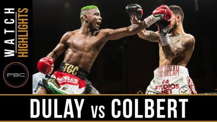 Dulay vs Colbert Highlights: April 13, 2018 - PBC on FS1