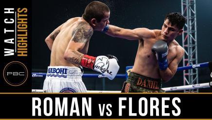 Roman vs Flores - Watch Video Highlights  June 16, 2018