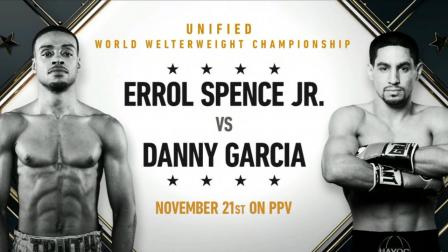 Errol Spence Jr. vs Danny Garcia - November 21, 2020 on FOX PPV