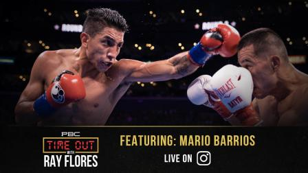 140-LB Champ Mario Barrios is Ready for a Proper Texas Showdown