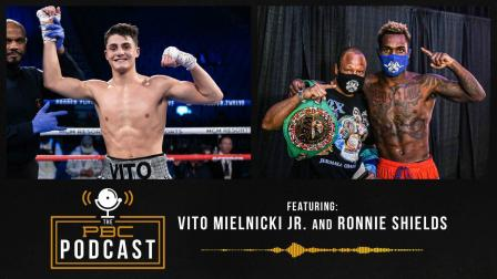 Vito Mielnicki Jr., Ronnie Shields and Spence vs. Garcia