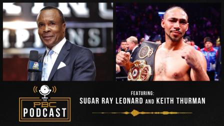 """Sugar"" Ray Leonard & Keith Thurman Talk Spence vs Garcia"
