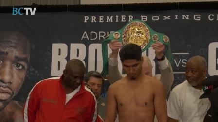 Broner - Garcia Weigh In