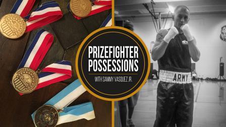 Prizefighter Possessions: Sammy Vasquez Jr.