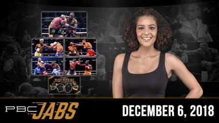 PBC Jabs: December 6, 2018