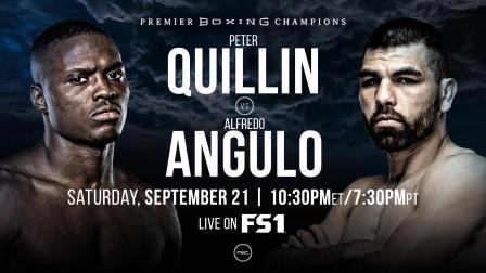 Quillin vs Angulo Preview: September 21, 2019 - PBC on FS1